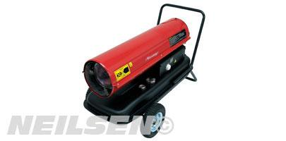 SPACE HEATER.DIESEL WITH WHEEL 30KW