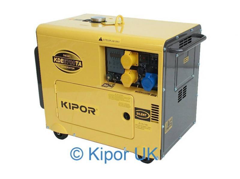 Kipor generator manuals.